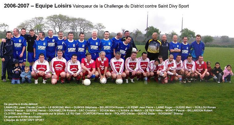 2006-2007 - Loisir Petite Coupe de Distr
