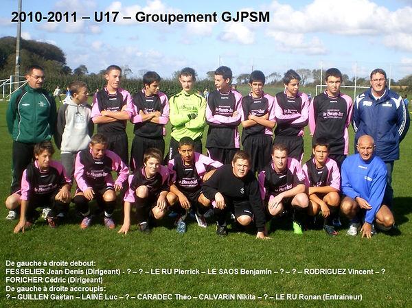 2010-2011 - U17 - Groupement GJPSM.jpg