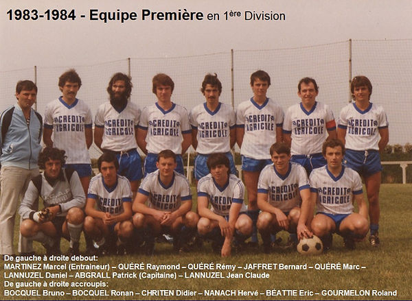 1983-1984 - Equipe Première en 1ere Div.