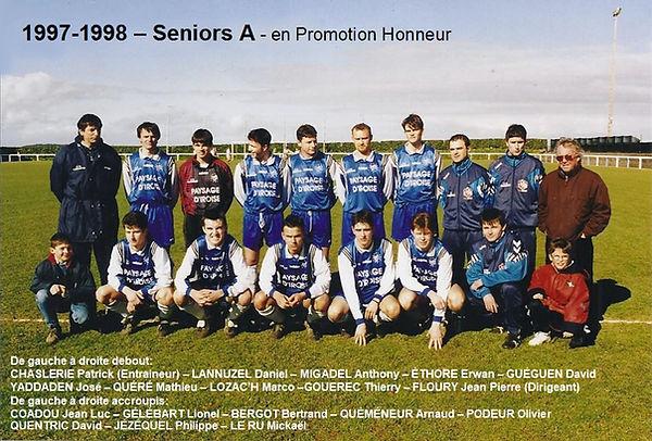 1997-1998 - Equipe Seniors A Montee en P