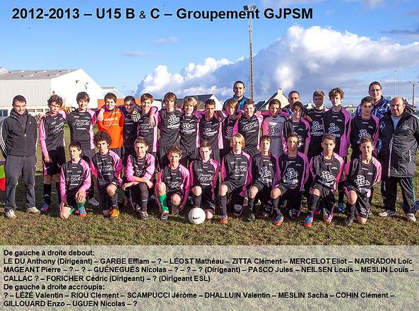 2012-2013 - U15 B & C Groupement GJPSM.j
