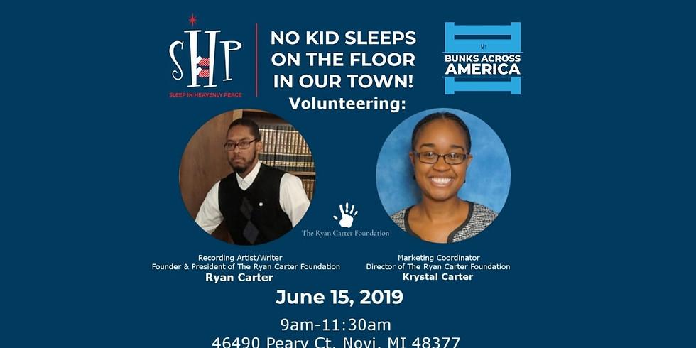 Volunteering at Bunks Across America