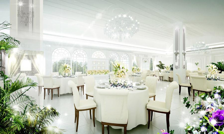 結婚式場 パース