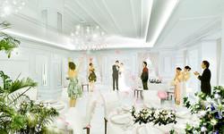 結婚式 パース