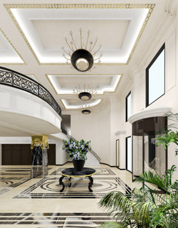 ホテルエントランスデザイン