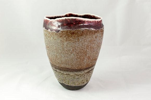 Vase ovale haut