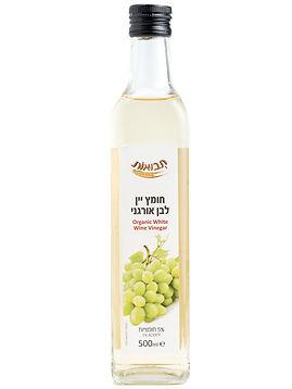 חומץ יין לבן אורגני