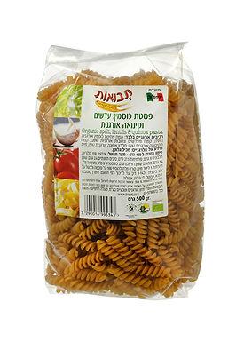 פסטה כוסמין, עדשים וקינואה אורגנית