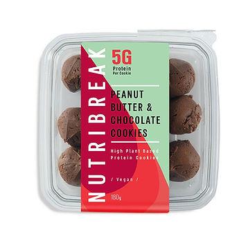 עוגיות חלבון- בוטנים שוקולד
