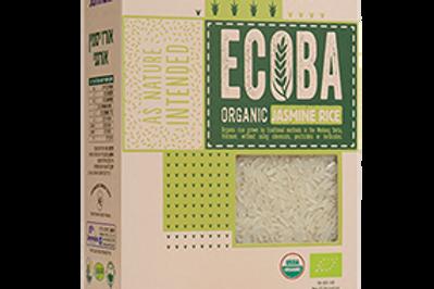 אורז יסמין לבן אורגני