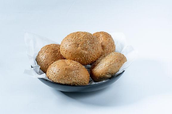 5 לחמניות ביס- קמח מלא