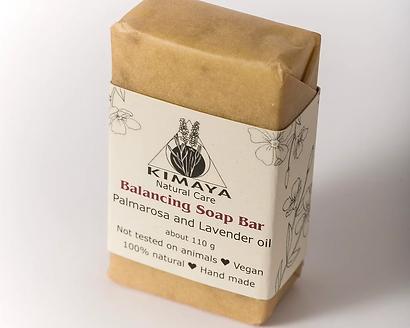 סבון מוצק מאזן - לעור שמן ויבש