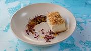 עוגת גבינה פירורים (אופציה ללא גלוטן)