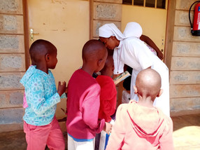 CDIA SENDS SUPPORT TO ORPHANAGE IN KENYA- AFRICA (Photos)