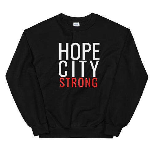 Hope City Strong Unisex Sweatshirt