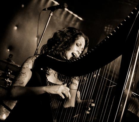 Abigail Selby-Harpist