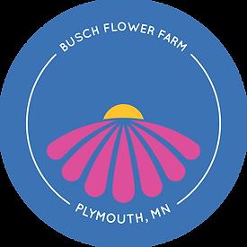 Len Busch Roses Flower Farm Logo