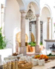 Kitchen terrace - details - Casa Fuzetta