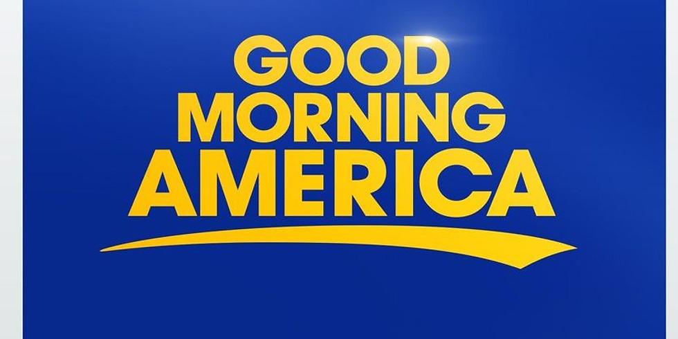 Possible Good Morning America shoot