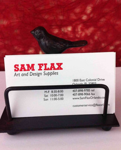 Business Card Holder in Bird