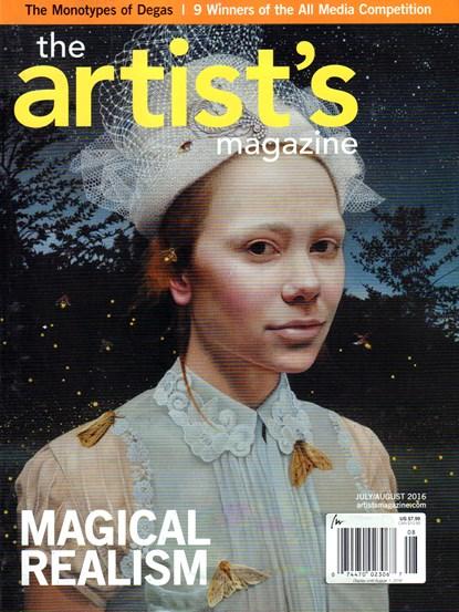 Sam Flax Atlanta Artist's Magazine