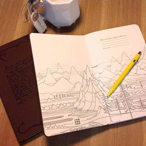 Moleskine Hobbit Journal