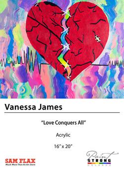 Vanessa James