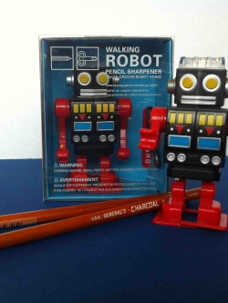 Sam Flax Robot Pencil Sharpener
