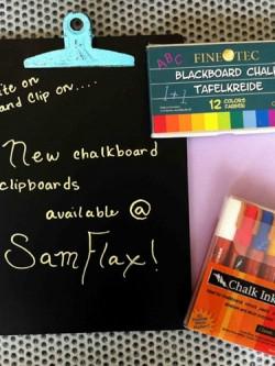 Sam Flax Orlando Chalk Clipboard
