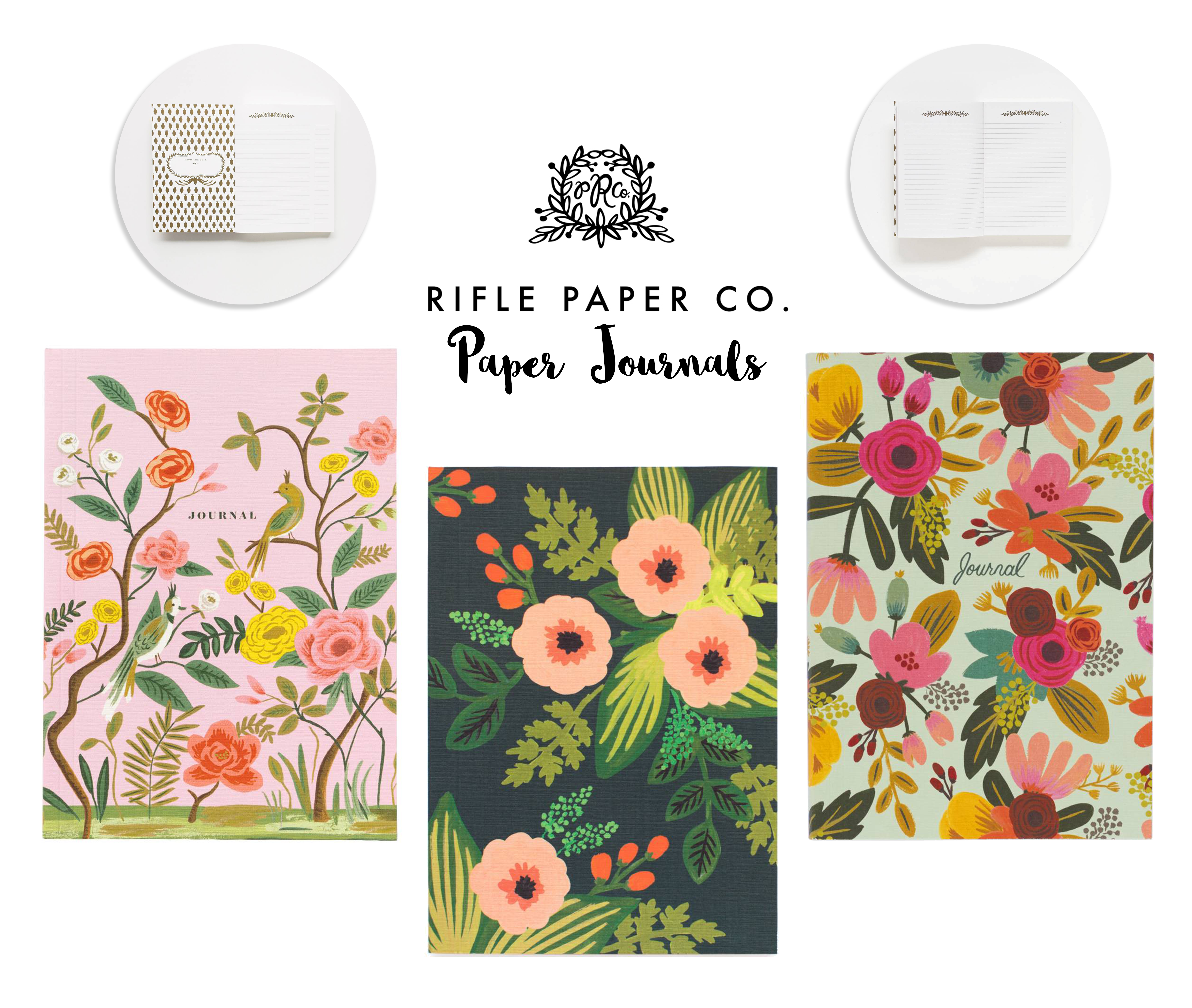 Rifle Paper Co. Paper Journals