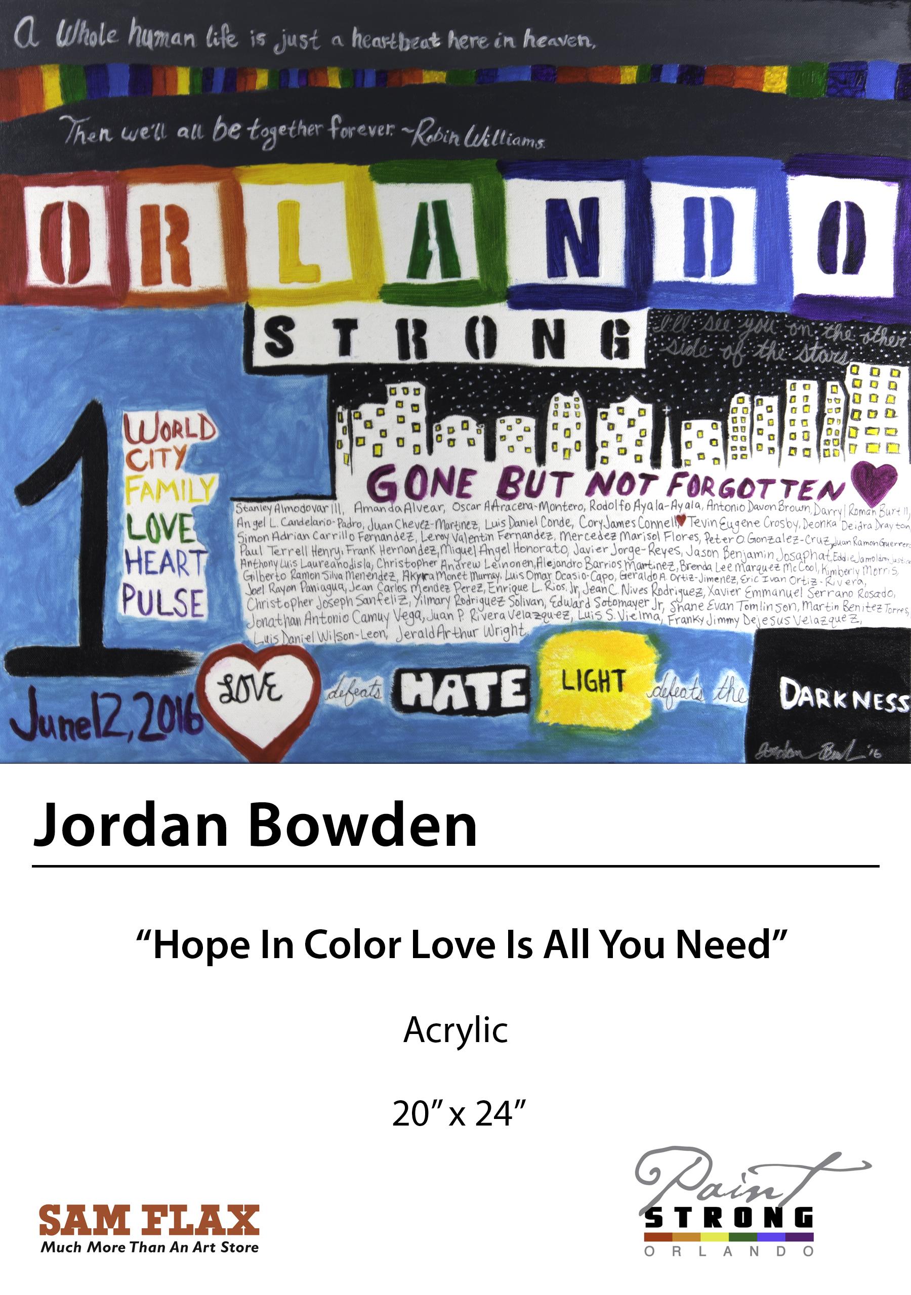 Jordan Bowden