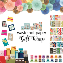 Waste Not Paper Gift Wrap