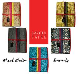 Savoir Faire Mixed Media Journals