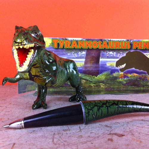 Sam Flax Atlanta Dinosaur Tail Pen