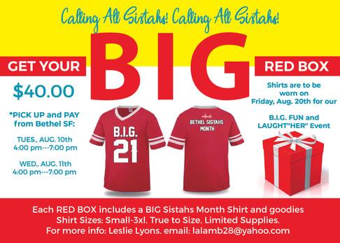 Sistahs BIG Red Box