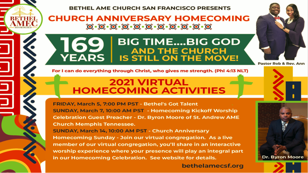 Bethel Church Anniversary 2021