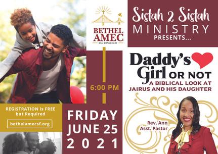 Sistah 2 Sistah Ministry
