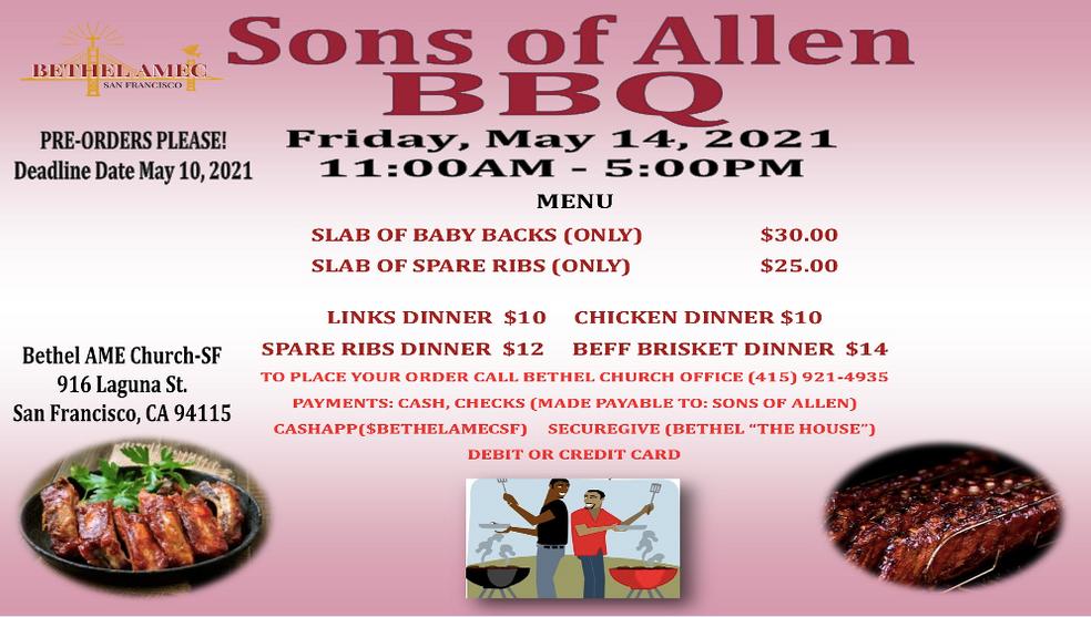 Bethel Sons of Allen BBQ