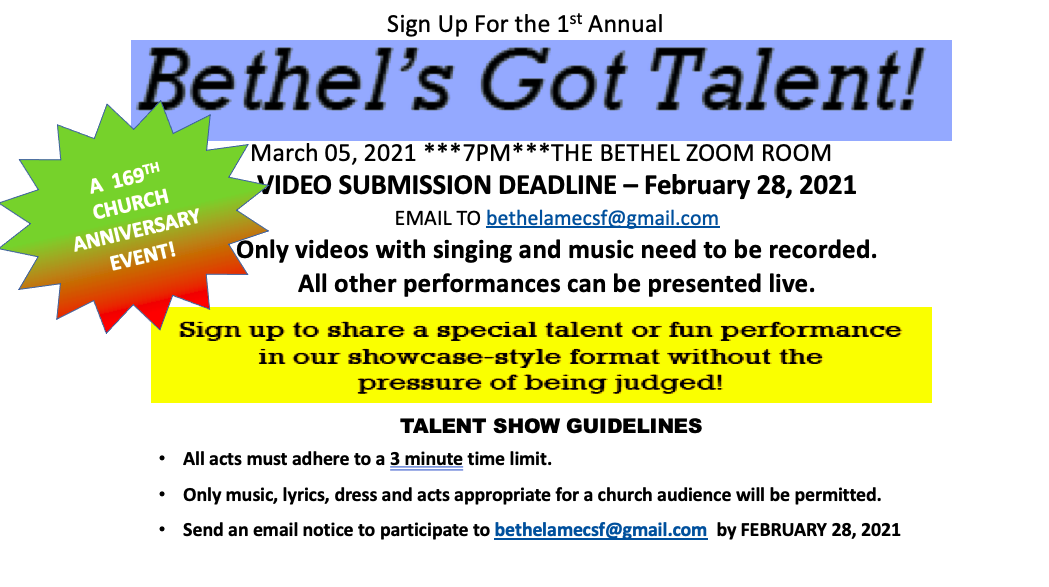 Bethel Got Talent