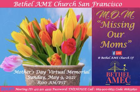 Bethel M.O.M. Missing Our Moms