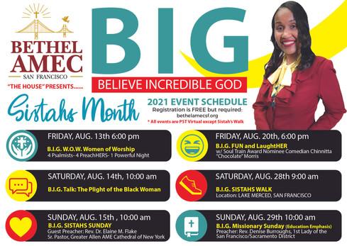 B.I.G. Believe Incredible God