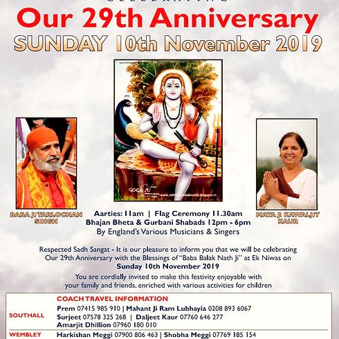 29th Anniversary Celebration