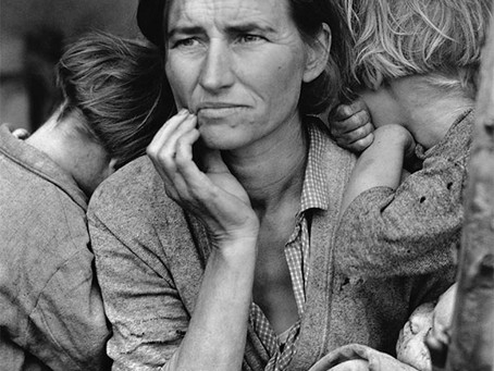 Dorothea Lange and her Migrant Mother