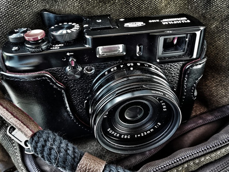 I'm in love - with the original Fujifilm X100.