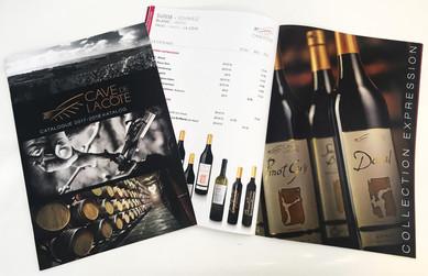 Catalogue de Prix Cave