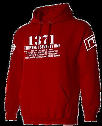 1371 (RED HOODIES)