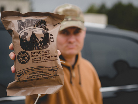"DOD pulls ""Cream of Bat"" experimental MRE from test groups"