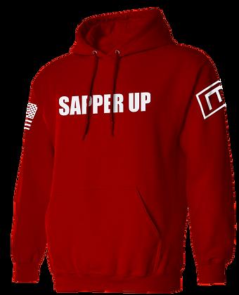 SAPPER UP (RED HOODIE)