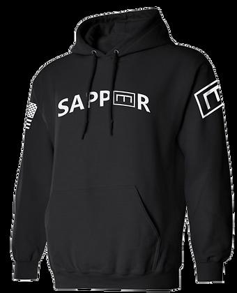 SAPPER TAB (BLACK HOODIE)