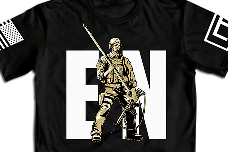 Combat Engineer Man T-Shirt